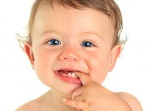 Pertumbuhan gigi susu