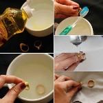 Proses mencuci perhiasan emas